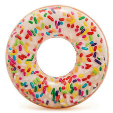 Intex - Sprinkle Donut Tube, Inflatable Rubber Ring for Pool, Beach, Summer