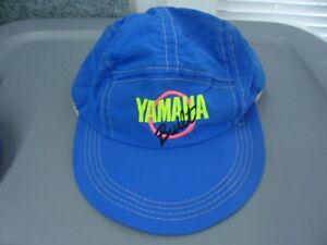 NOS Vintage Yamaha Built Motorcycle Hat Visor Cap