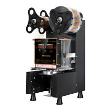 220V Commercial Automatic sealer Paper/Plastic cup sealing machine 88/89/90/95mm