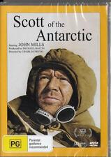 SCOTT OF THE ANTARCTIC - JOHN MILLS - NEW & SEALED REGION 4 DVD FREE LOCAL POST