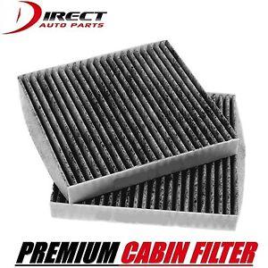 2 - Carbon Cabin Air Filter For HONDA / ACURA OE#80292-SDA-A01 Accord Civic CRV