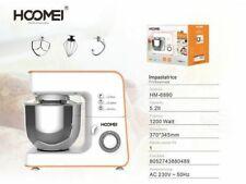 Impastatrice Professionale Robot Cucina 5,2 Lt 1200w Planetaria Hoomei Hm-6890