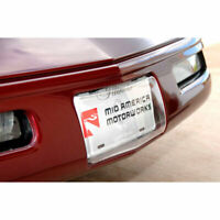 OEM NEW GM Inferno Orange Front License Plate Holder 20922289 For C6 Corvette