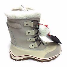 Pajar Womens Alina Mid Calf Winter Snow Boot Ice White Size 38 EU 7-7.5 M US