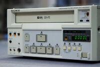 MINT! SONY SVO-9500MDP Hi-Fi SVHS + REMOTE! Video Cassette Recorder