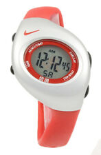 New Nike Kids Triax Junior WR0017 605 Sport Red Sterling Digital Sports Watch