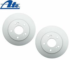 Chrysler Crossfire 278mm Diameter; Solid Pair Set of Rear Brake Rotors SP09114