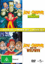 Alvin and the Chipmunks Meet Frankenstein The Wolfman NEW DVD cartoon