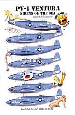 Bombshell Decals 1/48 LOCKHEED PV-1 VENTURA U.S. Navy Patrol Bomber