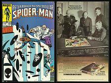 SPECTACULAR SPIDER-MAN #100 FN (Marvel 1985) THE SPOT, BLACK CAT, KINGPIN