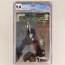 Grendel 1 CGC 9.4 NM White Pages Origin of Hunter Rose Comico Comics