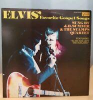ELVIS'  Favorite Gospel Songs -  1977 QCA Records 362 Stereo Vinyl LP