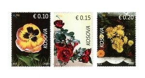 Kosovo Stamps 2020. Flora, Flowers. Set MNH