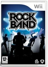 ROCK BAND WII GAME NEW & SEALED UK PAL FAST DEL