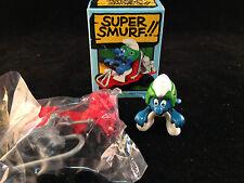 Super-Smurf Go-Cart 6725 Schliech Collectible Vintage Toy