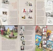 EB 3/2001 Dt.Post Jugend, Figuren aus Kinder- u.Jugendbüchern (MiNr.2190-94)