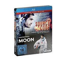 Blu-ray source code/Moon steelbook-NEUF & OVP