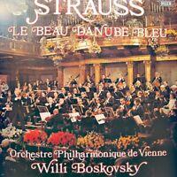 ++WILLI BOSKOVSKY le beau danube bleu STRAUSS LP 1974 DECCA RARE VG++