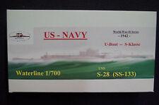 HP Models  US-Navy U-Boot der S-Klasse    S-28 (SS-133) -1942-  1:700 Resin