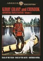 KIRBY GRANT & CHINOOK ADVENTURE TRIPLE FEATURE: V3 Region Free DVD - Sealed