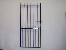 6 ft  tall single gate for a 3 ft 6 ins opening with narrow bottom gaps L/H