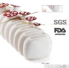 Viennetta estilo de silicona de Cocina para Hornear Molde Horno FDA certificado