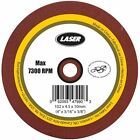 LASER Grinding Wheel 3/16 Inch Size - 102 x 4.5 x 10mm For Sharpening Chain