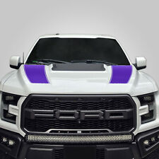 Hood Race Stripe kit for 2017 2018 2019 Ford Raptor F-150 Graphics Decals PURPLE