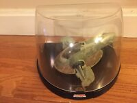 STAR WARS MICROMACHINE TITANIUM ULTRA SERIES SLAVE 1 BOBA FETT VESSEL 2006