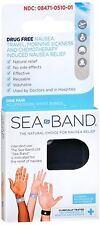 Sea-Band Acupressure Wrist Bands 1 Pair (Pack of 2)
