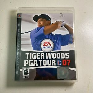 Tiger Woods PGA Tour 07 (Sony PlayStation 3, 2006) - Complete in Box