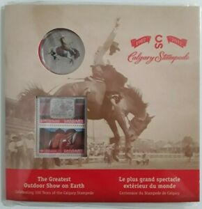 2012 5oz Proof $50 /'Calgary Stampede/' .9999 Fine Silver Coin 13009