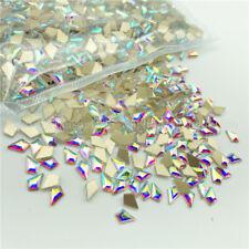 20 50pcs Nail Art Rhinestones Glitter Diamond Crystal Gem 3D Tips DIY Decoration