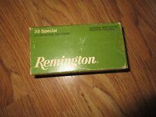 Vintage Remington 38 Special Box (Empty)