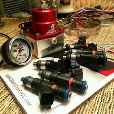 6 NEW Bosch Ev14 55lb 600cc fuel injectors For Nissan 350Z 370Z Maxima G35 G37