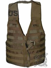 New Coyote USMC MOLLE FLC Military Tacitcal Survival Vest Fighting Load Carrier