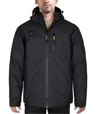 HARD LAND Men's Down Winter Coat Work Jacket Waterproof Outdoor Parka Medium New
