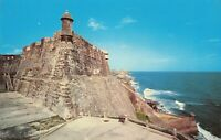 Postcard Haunted Sentry Box San Juan Puerto Rico