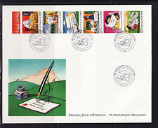 grande enveloppe 1er jour bande journée de la lettre  ;  1997
