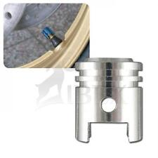 HD Dyna Street Bob ventilkappenset pistón plata válvula tapas