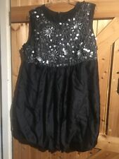 """Colleen X Black Sequinned Dress. Chest 42"""" Approx Size 16-18 Lovely Dress"""
