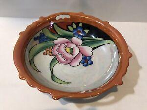 Vintage Lusterware Cereal Bowl  Japan  Art Deco  732
