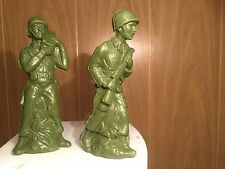 Plastic Green Army Men Figurines