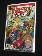 1990 Justice League EUROPE #1Featuring the Return of the Global Guardians Annual