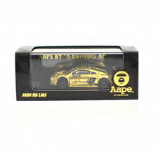 Tarmac Works x Aape - Audi R8 LMS 1:64 in Golden color , Aape Special Edition