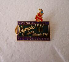 "Vintage 1996 Atlanta Summer Olympic Games ""Authentic Pin Collector"" pin badge"