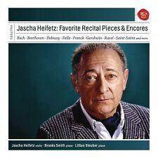 Jascha Heifetz - Favourite Recital & Encore.. - 5xCD Digipak BoxSet - NEW SEALED