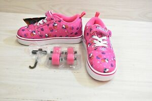 Heelys Pro 20 X2 HE100778K Skate Shoes, Little Girls Size 3, Pink MSRP $50