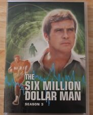 DVD TV SHOWS THE SIX MILLION DOLLAR BIONIC MAN COLLECTION SIX DISC SET SEASON 3