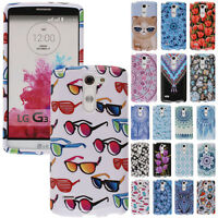 For LG G3 Stylus D690 Phone Various Design SNAP ON Hard Protector Case Cover
